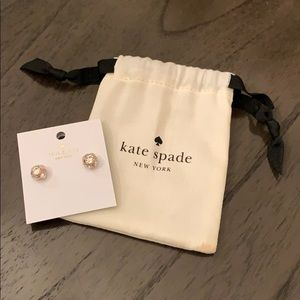 Kate Spade Rose Gold Stud Earrings